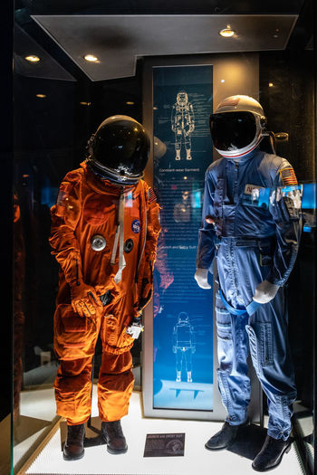 Exhibits at Johnson Space Center, Houston, TX Astronaut Galaxy Houston Johnson Space Center NASA Science Suit Texas USA Cosmonaut Exhibit  Helmet Human Representation Illuminated International Space Station Space Space Center Space Station Spaceflight Technology Uniform