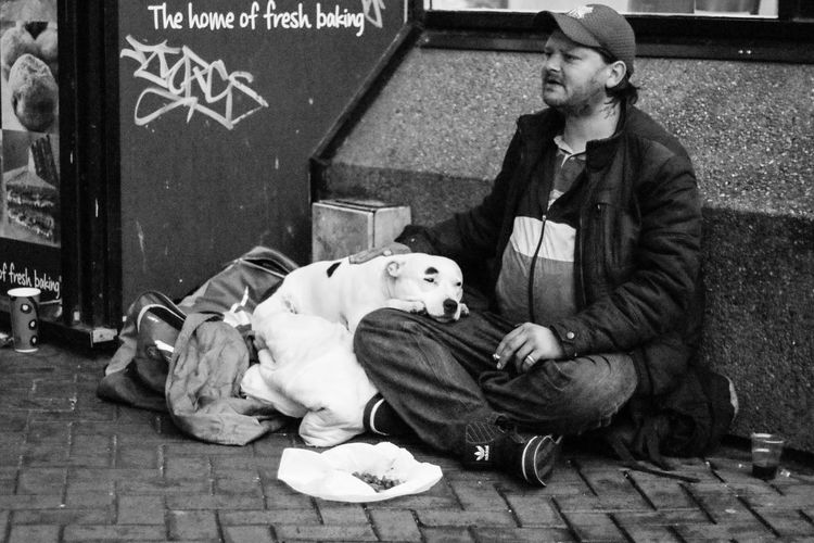 Authentic Moments Candid Streetphoto_bw Streetphotography