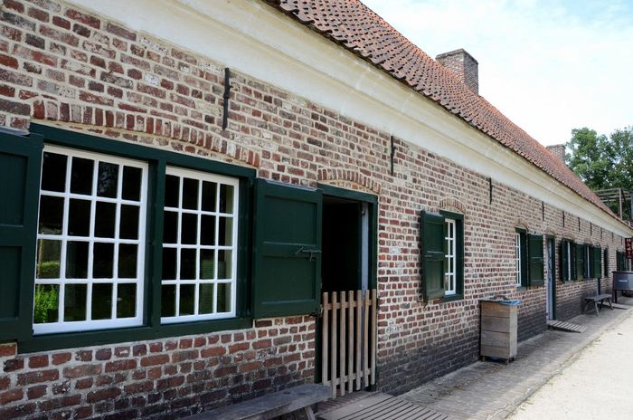 Bokrijk Architecture Built Structure Building Exterior In A Row Façade Outdoors Exterior No People Day Outdoor Photography Old But Awesome Old Building  Old Houses Façade Facade Building