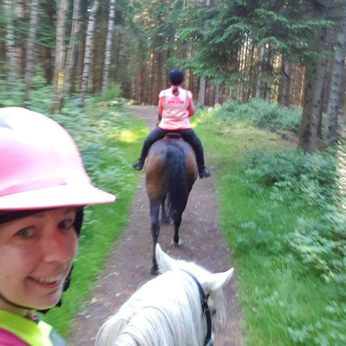 Selfie✌ Tree Happiness Horseback Riding Horse