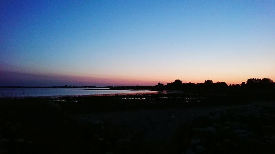 Astronomy Water Clear Sky Sea Astrology Sign Sunset Beach Galaxy Space Silhouette Low Tide Romantic Sky Seascape