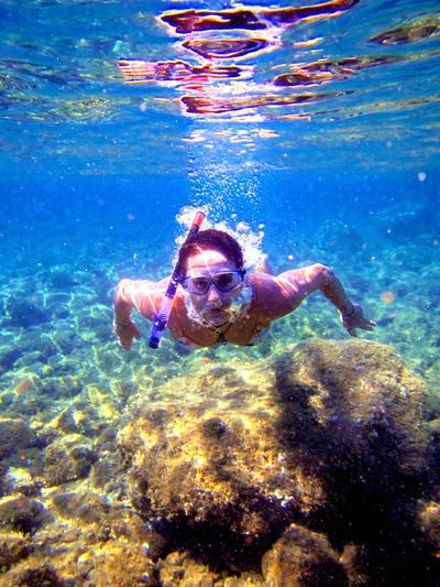 Done That. Underwater UnderSea Water Sea Swimming Scuba Diving One Person Snorkeling Adventure Nature Day People Outdoors Young Adult Adult Adults Only