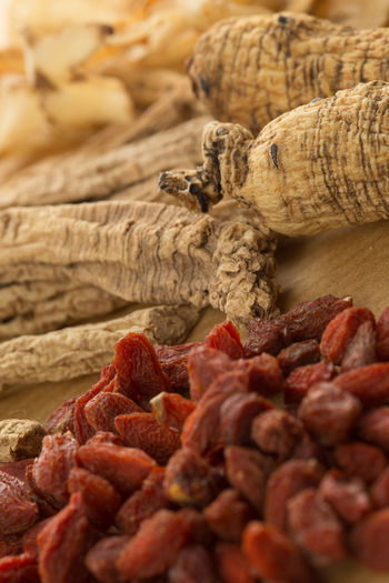 Traditional Chinese herbal health medicine ginseng. Herb Medicine Original Experiences Plant Taking Photos Therapy Alternative Energy Backgrounds China Chinese Cultures Food Ginseng Health Healthcare And Medicine Healthy Eating Healthy Lifestyle Herbal Medicine Holistic Ingredient Medical Medicinal Plant Spice Traditional White