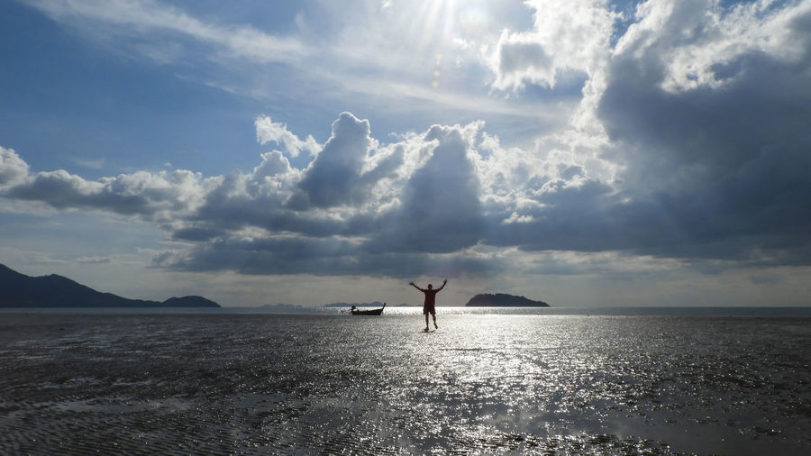 Koh Siboya Thailand Beauty In Nature Cloud - Sky Day Horizon Over Water Nature Outdoors Scenics Sea Sky Sunset Tranquil Scene Tranquility Water Waterfront