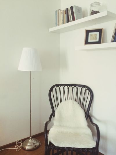Chair in the room corner
