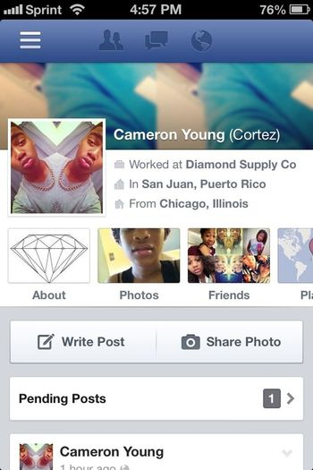 Add Me On Facebook
