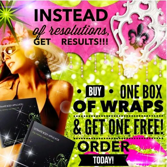 It Works Crazy Body Wraps Bogo...... buy a Box of Body Wraps and the second it's FREE!