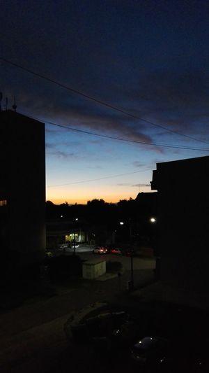 Sky Dusk Sky 🌆city🌃