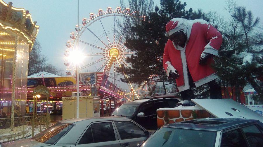 Park King Kong Christmas Spirit лунопарк одесса
