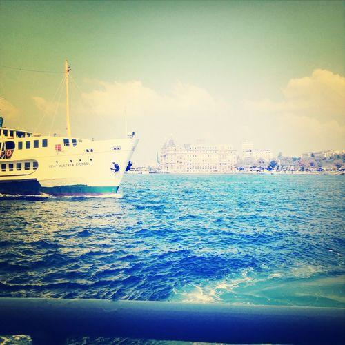 Kadıköy Istanbul Sea