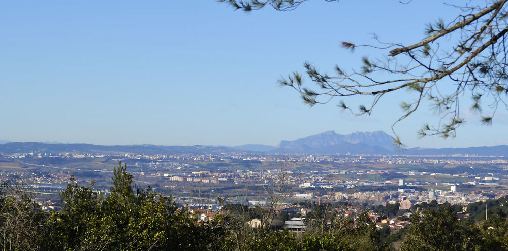 Beauty In Nature Cities City Cityscape Granollers Martorelles Mollet Del Valles Montserrat Mountain Nature No People Santa Maria De Martorelles Sky Towns Tree Urban Skyline Vallès Oriental