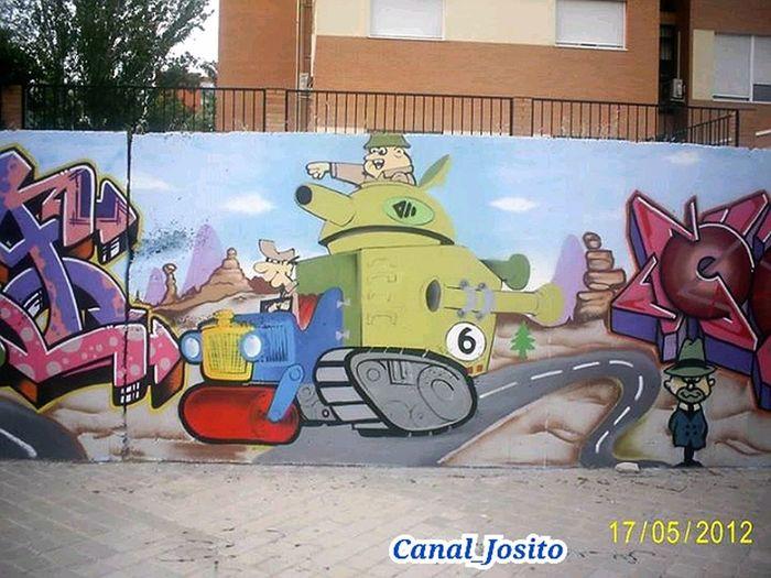 Serie 3/6. Graffity Fuenlabrada Madrid Españoles Y Sus Fotos