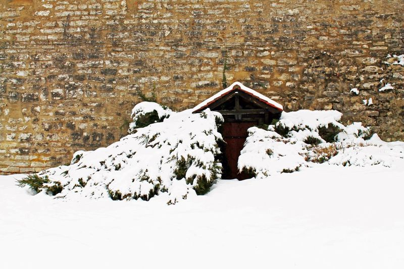Berching Winter Schnee Eingeschneit Invierno Nieve Por La Nieve Snow Snowed In Stadtmauer City Wall