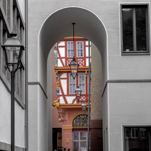 Altstadt Architecture Built Structure Building Exterior Building No People Window Day Outdoors Low Angle View Entrance Wall - Building Feature Belief Religion Place Of Worship History The Past Door Time Arch Railing