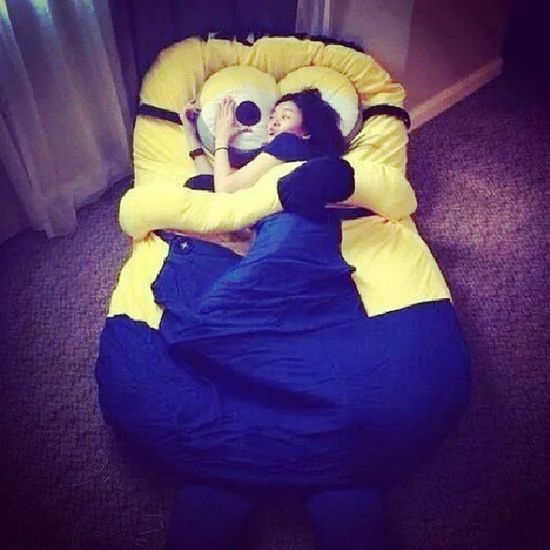 I want to have one :)) I will never leave in this minion bed! Wantone Minionlover Superlike