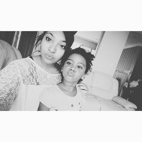 This perfect little angel though! Love her to bits!🐼😍😘 Zozo Jhb Johannesburg Perfect Kissy Face Curlsfordays Mwa  Last_day_in_jhb WOW Me Zoey Pout Hashtagin Happiness Black And White Short Hair Sony_M4_aqua Best_holiday_ever Family_is_everything Little_sister