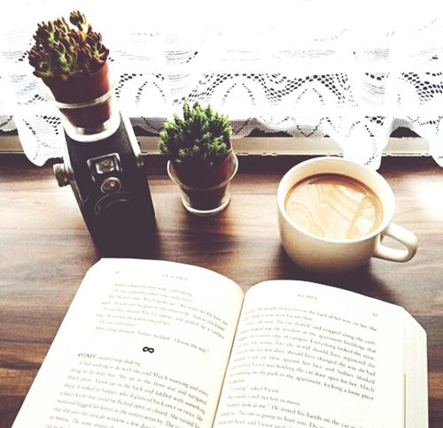 Book Reading A Book Intersting Cofee Cofee In The Morning ☺❤ MYeverything