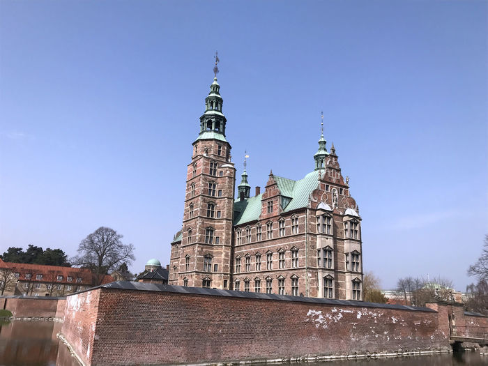 Rosenborg Palace in the Kings garden i Copenhagen Denmark Holiday Rosenborg Palace Scandinavia Travel Architecture Beauty Belief Building Building Exterior Built Structure City Copenhagen Day History Kings Garden Copenhagen Low Angle View Nature No People Outdoors Place Of Worship Religion Sky Spire  Spirituality The Past Tourism Tower Travel Destinations EyeEmNewHere