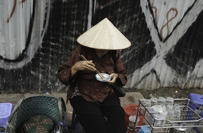 Street Streetphotography Candid Photography Vietnam Athexphotographs One Woman Only