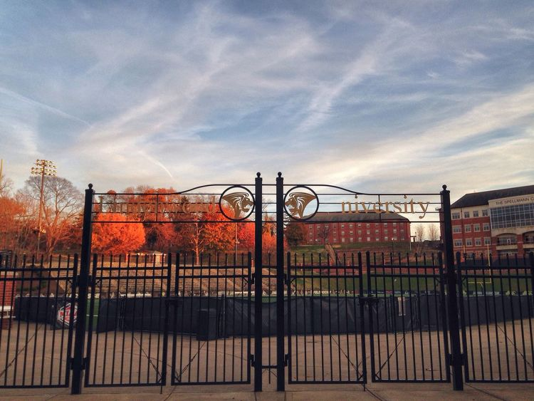 LU football Lu Lindenwooduniversity Campus Football Footballfield Check This Out Fall Colors Beautiful Architecture Colors Light University Fall Season