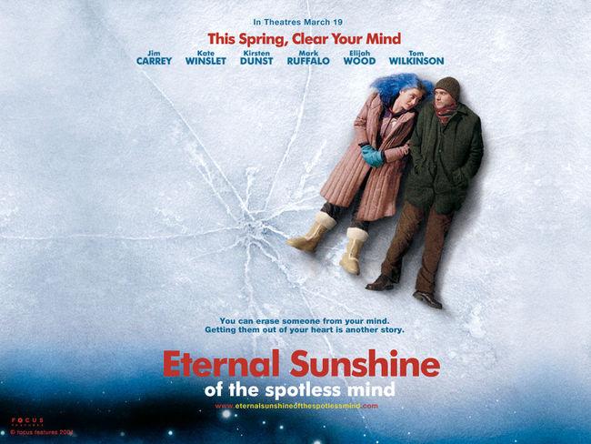 Eterno resplandor de una mente sin recuerdos... Eternal Sunshine Of The Spotless Mind