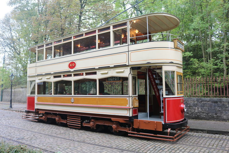 Crich Tramway Museum No People Outdoors Tram Transportation