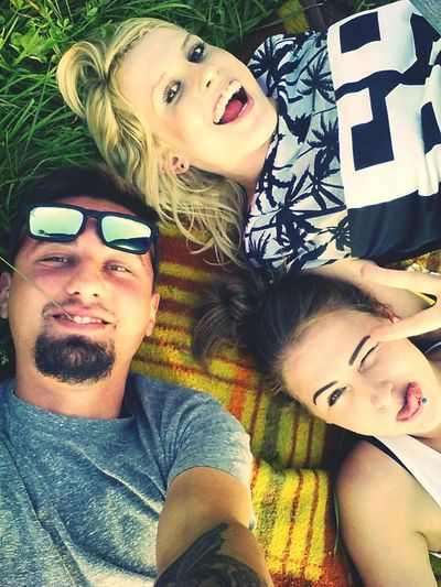 Everyday Joy Friends Cheese! Enjoying Life Sunglasses
