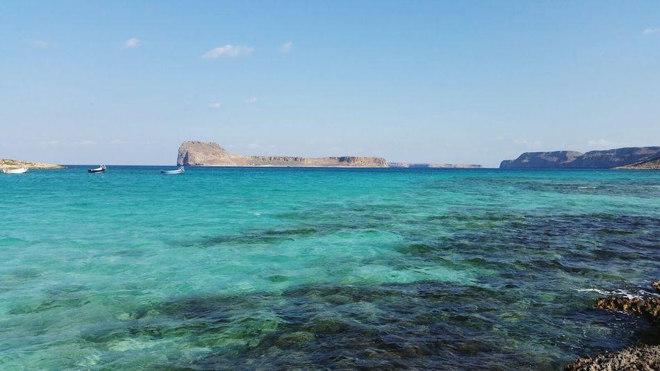 Blue Lagoon Balos Lagoon Lagoon Water Lagoon Crete Gramvousa Sea Blue Beach Water Travel Destinations Cloud - Sky Outdoors Travel Nature Day Vacations