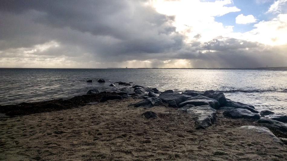 Baltic Sea Beach Beauty In Nature Cloud - Sky Day Horizon Over Water Nature No People Outdoors Pebble Beach Sand Scenics Sea Sky Stones Tranquil Scene Tranquility Water