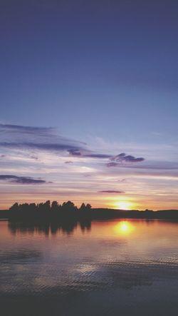 Gold Sky Sunset
