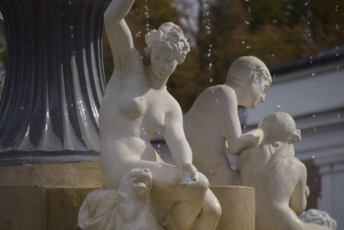Beauty In Nature Central Park Cluj-Napoca Droplets Fountain Nature Perching Statuary Statue Tranquility