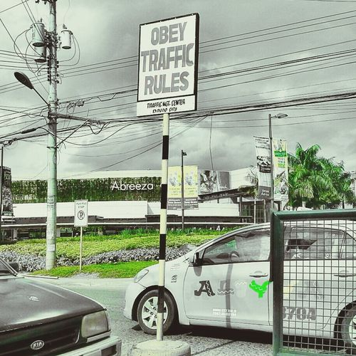 obey traffic rules Eyeem Philippines Streetphotography
