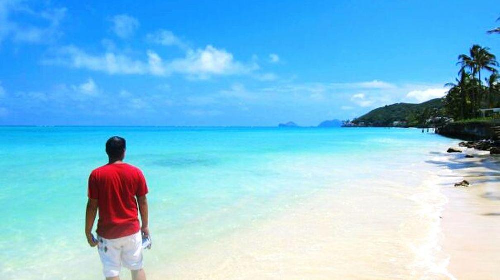 Windward Lanikai  Hawaii Beach