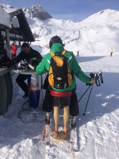 The Tourist Skiing Lech
