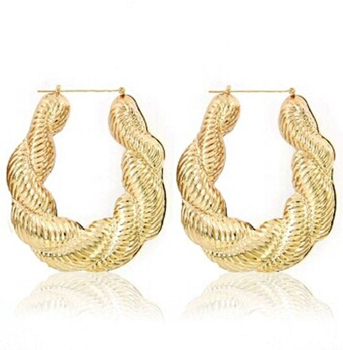 Bamboo Earrings NikkiesKorner.com