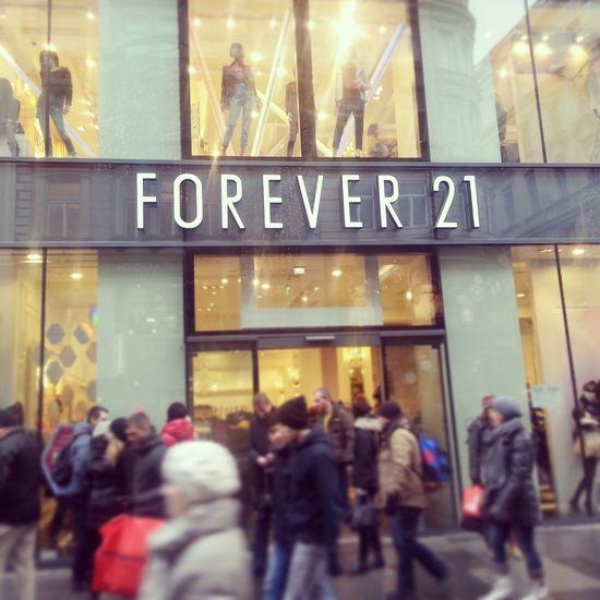 Vienna♥ Forever 21 Shopping <3  Vienna