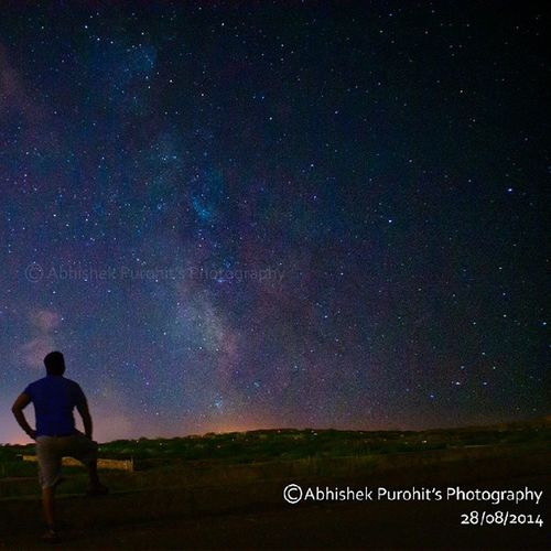"""""""milky way galaxy"""" captured by me"""