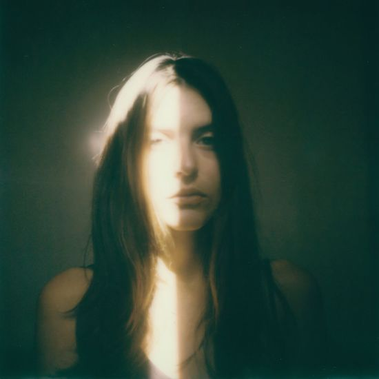 Beautiful Woman Film Photography Analogue Photography Polaroid Art Polaroid Light And Shadow Portrait Of A Woman Portrait Serious Contemplation Young Women Young Adult Beautiful Woman Indoors  One Person Women Close-up