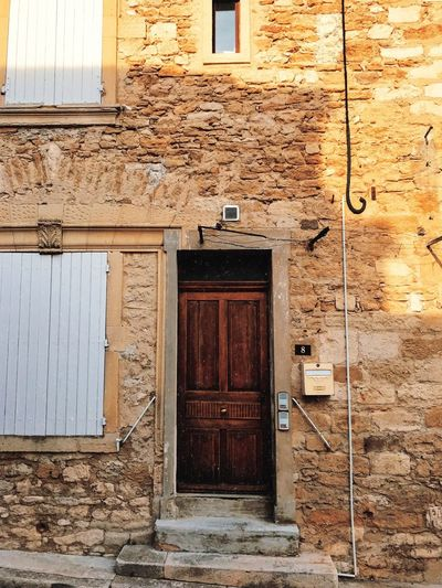 France Relaxing Rhône Travel Architecture Building Countryside Door Entrance South Of France Summer Travel Destinations Vacation Wood - Material