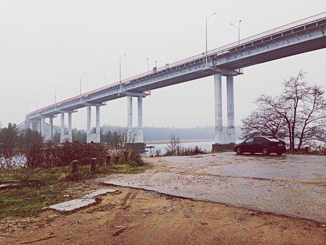 Bridge Russia Vyborg Autumn
