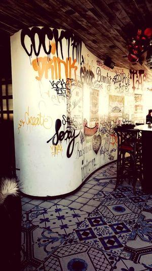 Sushi samba bar wall Bar Vintage Photo