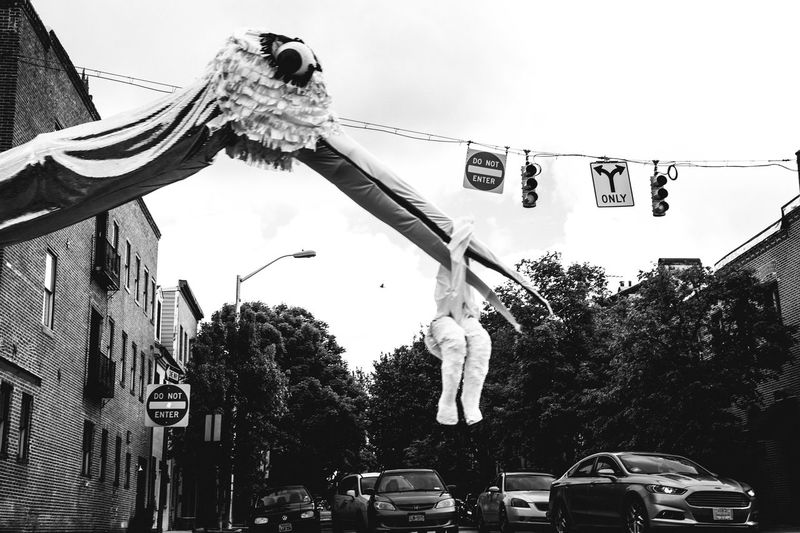 Kinetic Sculptures roamed the streets of Baltimore this weekend. This stork and baby sculpture seemed perfect the day before Mother's Day. The Street Photographer - 2016 EyeEm Awards Candid Capture The Moment Streetphotography Street Photography Decisive Moment