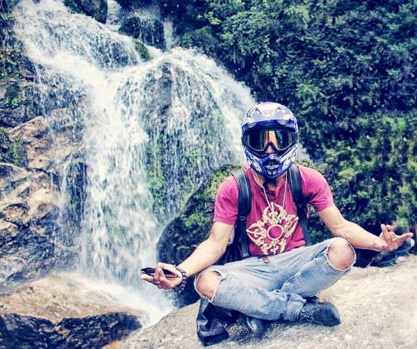 Feeling fresh!!! Watrfall Trying New Things Beauty Of Nature Pose Ride Hiking Neapl