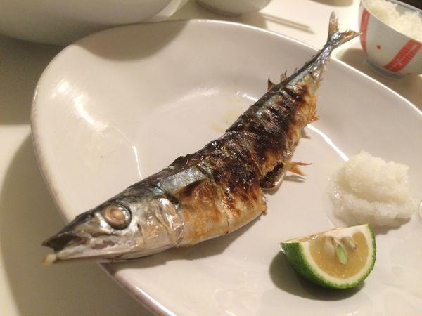 さんま 焼き魚 Fish Dinner