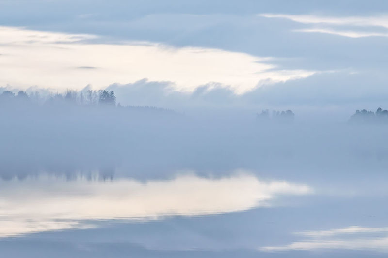 Misty Beauty In Nature Cloud - Sky Day Mist Nature No People Outdoors Scenics Sky Tranquil Scene Tranquility