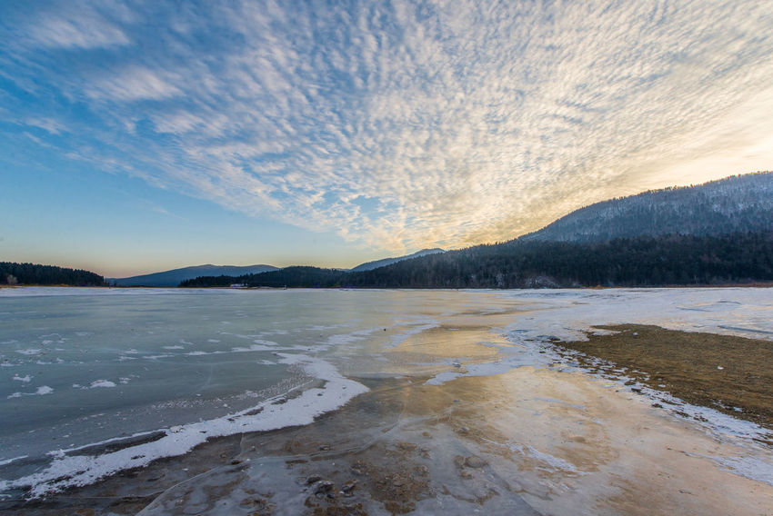 Cerknica lake in all its winter glory. Cerkniško Jezero Ice IceBreaking Out Of This World Slovenia Winter Wintertime Beauty In Nature Cerknica Cloud - Sky Cold Temperature Lake Landscape Nature Outdoors Scenics Slovenija Snow Tranquility Water Winter Wonderland