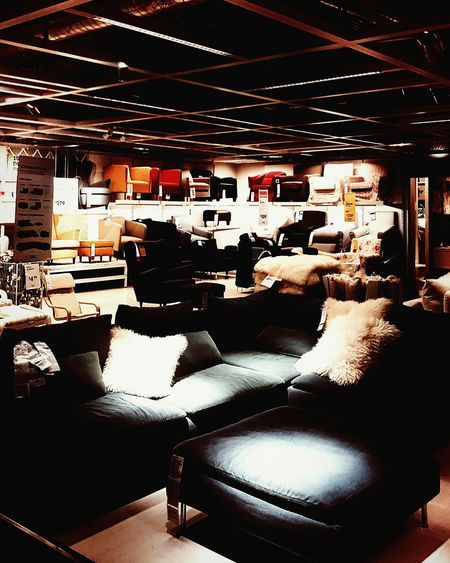 IKEA Ikea Showroom Showroom Furnitures Furniture Showroom Furnishings Couches Seating Living Room For Sale Decor Interior Design Interior Decorating Design No People Indoors  Store Sofa Sectionals Living Room Furniture Chairs Display Still Life Gallery Room