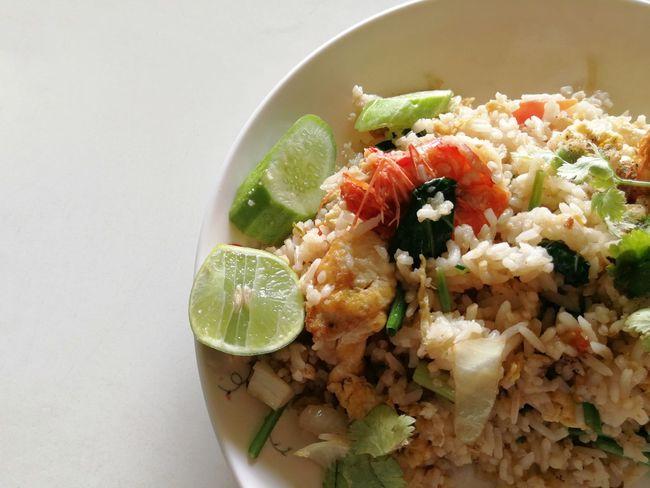 Dish Shrim Fried Rice Healthy Eating Food And Drink Freshness Food Indoors  Bowl Garnish
