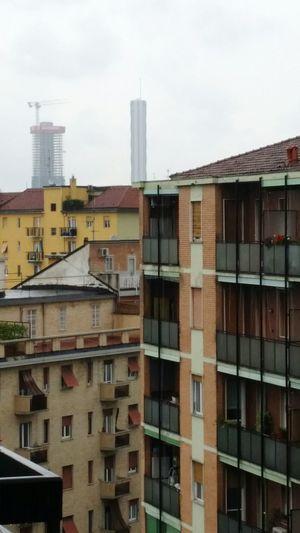 Milano Milan Italy Rainy Day Skyscrapers Palaces Palazzi 8 Piano Grattacieli Incastro