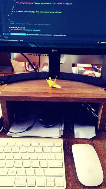 Tsuru para voltar ao trabalho Tsuru Origami Onidigital Mucuricoworking Programming Ionic